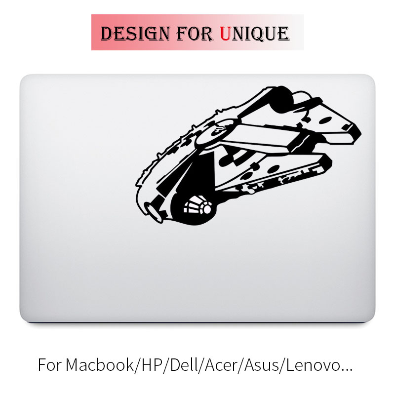 Millenium Falcon Spacecraft Laptop Decal for font b Apple b font font b Macbook b font