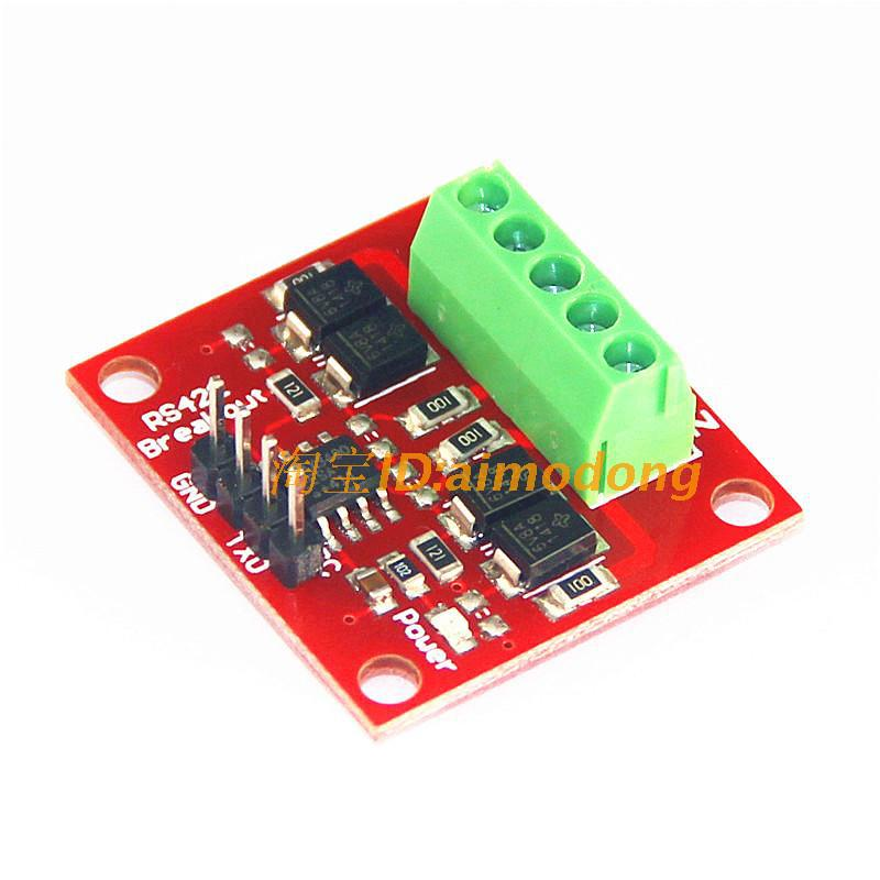 Freeshipping RS422 module transfers between TTL bidirectional signals freeshipping rs232 to zigbee wireless module 1 6km cc2530 chip