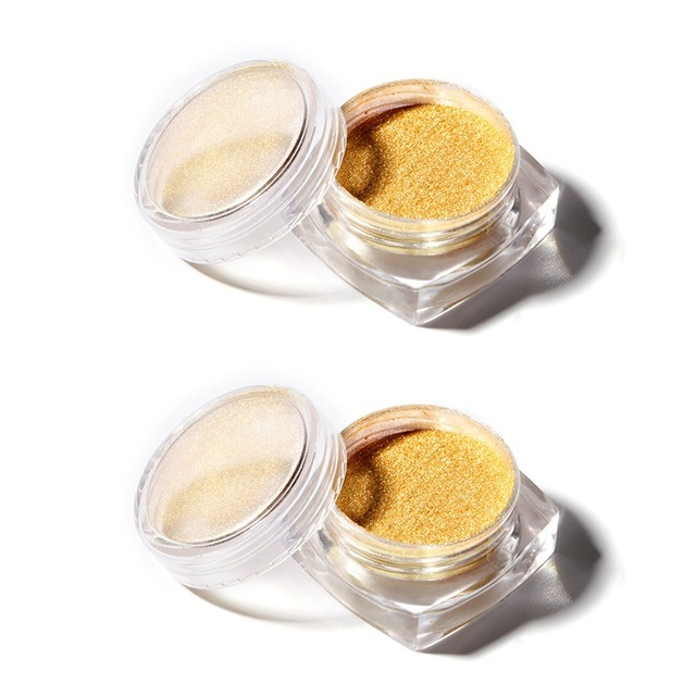 2PCS GOLD POWDER