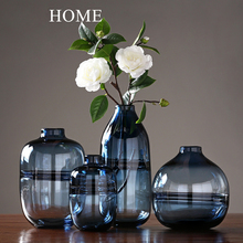 Modern Simple Transparent Glass Vase Crafts glass terrarium flower vase wedding vases for table decorations home decoration