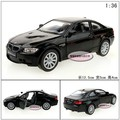 Candice guo! Newest super cool 1:36 mini M3 sports car alloy model car toy gift pull back 1pc