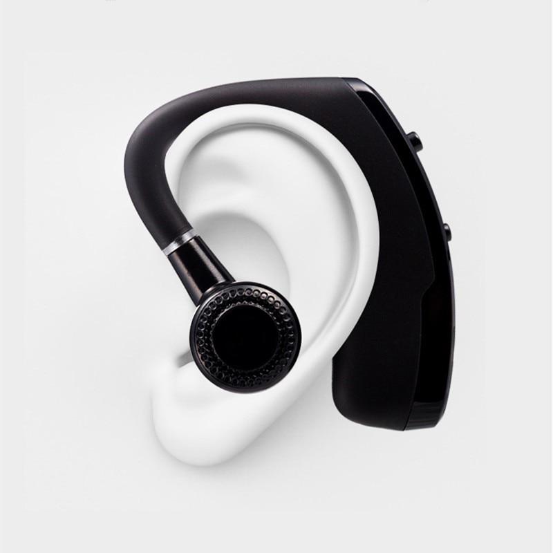 Бизнес Bluetooth гарнитура с микрофоном голос Управление громкой связи Беспроводной  Bluetooth наушников Спорт Музыка вкладыши audifono 88b715ef5152c