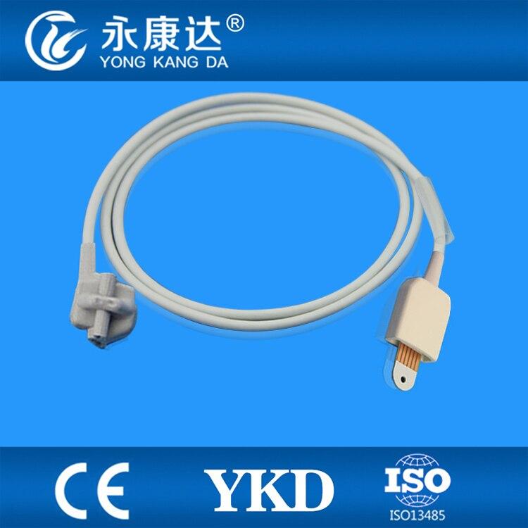 Compatible Masimo pediatric soft tip  SpO2 Sensor 3m,6pins,TPUCompatible Masimo pediatric soft tip  SpO2 Sensor 3m,6pins,TPU