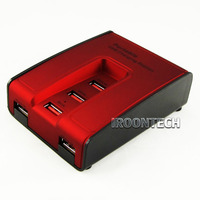 5 Ports USB Power Adapter USB Charger Charging Station. Output: DC 5V/2.1A*1 port ,5V/1A*2 port ,5V/0.5-1A*2 port