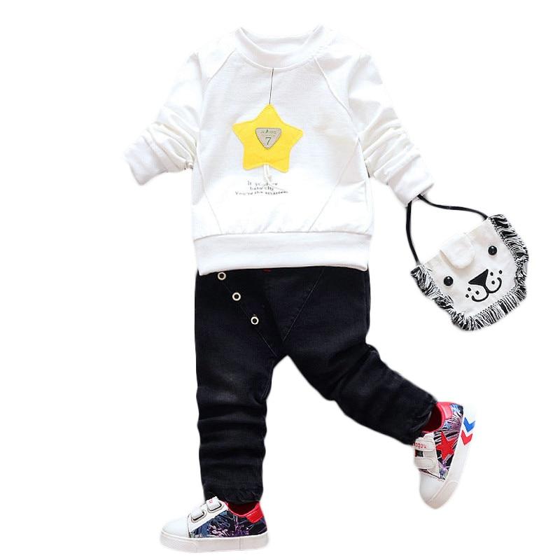 JIOROMY Ropa para niños Conjunto 2019 Estrella de primavera - Ropa de ninos - foto 2