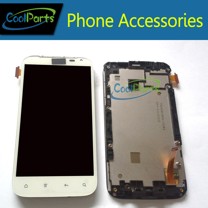 Replacement Part White Color For HTC G21 Sensation XL LCD Display and Touch Screen Digitizer With Frame Free Shipping 1PC/Lot одежда больших размеров biao is still 12068 2014