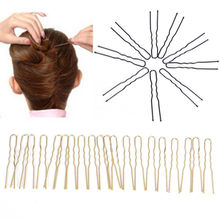 20pcs/lot Girls Hairwear Metal Barrette Bobby Pins U Shaped Hairpin Hair Clips Women Dish Tools Hair Accessories(China)