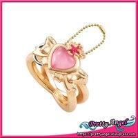 Original Bandai Sailor Moon 20th Anniversary Die Cast Ring Charm Gashapon Chibi Moon Compact