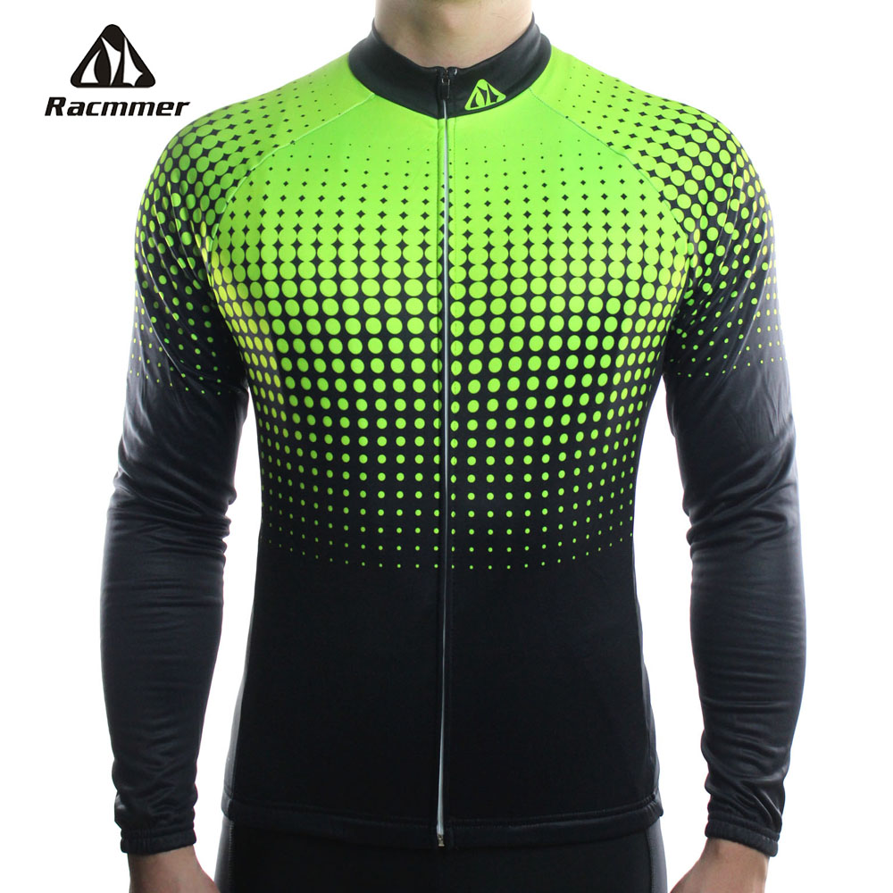 Racmmer 2018 Cycling Jersey Long Sleeve Mtb Clothing Bike Wear Clothes Kit Bicycle Maillot Roupa Ropa De Ciclismo Hombre #CX-14 xintown cycling clothing men long sleeve bike wear jersey sleeve suite mtb bicycle maillot ropa ciclismo sportswear roupa