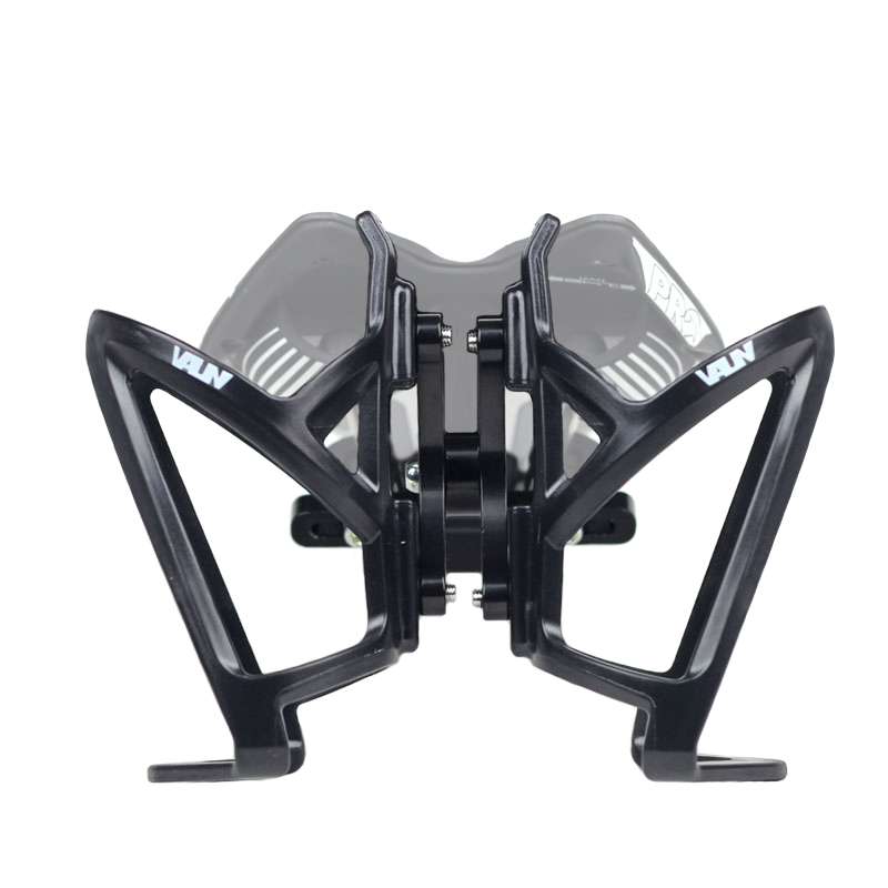 VAUN VB1 Bicycle Water Bottle Cage System Alloy Black for Cycling Triathlon Bike цена