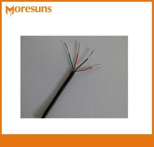 50m/roll 4 Core Silica Gel Wire 0.2 Square Soft Silicone Core High-temperature Wire YGG Multicore HI-TEMP WIRE