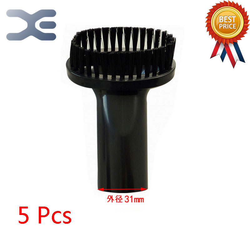 5Pcs High Quality Adaptation For Sanyo Vacuum Cleaner Accessories Brush PP Brush Outer Diameter 31mm Round Brush vacuum cleaner pp plastic connector with good quality for accessories of idustrial vacuum cleaner