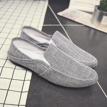 2019 summer new men's peas linen shoes youth trend breathable shoes casual men's peas shoes märt karmo must kuldne müts me peas ii