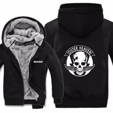 Printed Cool Game Metal Gear Dog Sweatshirt