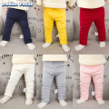 2017 Autumn Winter Newborn Baby Boy Pants Thick Warm Trousers Candy Color Baby Girl Pants Baby Clothing 0-2 year baby pants