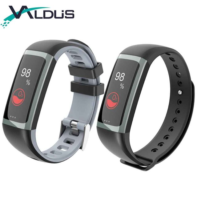 Valdus G26 Smart Bracelet Fitness Tracker With Heart Rate Monitor Blood Pressure Oxygen For