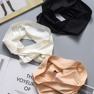 Summer Women Modal Bandeau Top Solid Breathable Strapless Bra Bandeau Soft Seamless Women Casual Tank Crop Tops