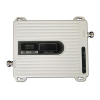 Cell Phone 2G 3G Signal Booster GSM WCDMA Dual Band Signal Repeater 900 mhz GSM Boosters 2100 mhz Mobile Signal Amplifier