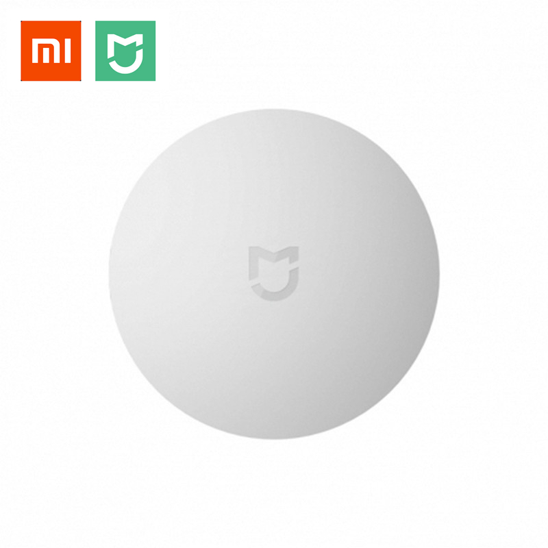 Xiaomi MIJIA Aqara Wireless Switch Mini ZigBee Version With Gyro Smart Home Remote Control Center for Mi Home APP Gateway Hub rak dinding minimalis diy