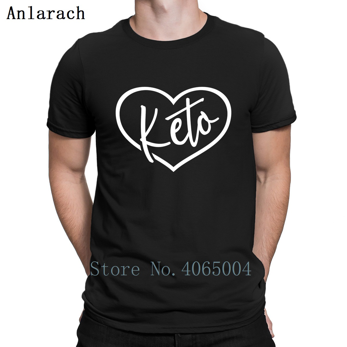 I Love Keto T Shirt Building Spring Autumn Cute Tee Shirt Letter S-XXXL Knitted Outfit Shirt
