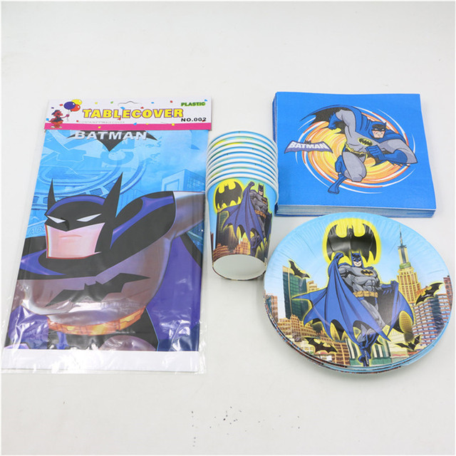 disposable birthday decoration party supplies 12people lego batman design tableware party napkins platesu0026cups party set 45pcs  sc 1 st  AliExpress.com & disposable birthday decoration party supplies 12people lego batman ...