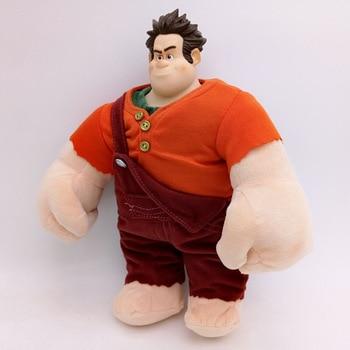 28cm New Movie Wreck-It Ralph 2 plush toy PVC Figure Doll Wreck-It Ralph Stuffed Toys Kids Christmas gift 1