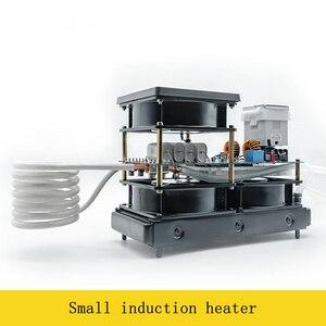 Image 2 - 2500W Media E Alta Frequenza di Riscaldamento a Induzione Piccolo Forno di Riscaldamento a Induzione per Oro E Argento di Fusione 1600C
