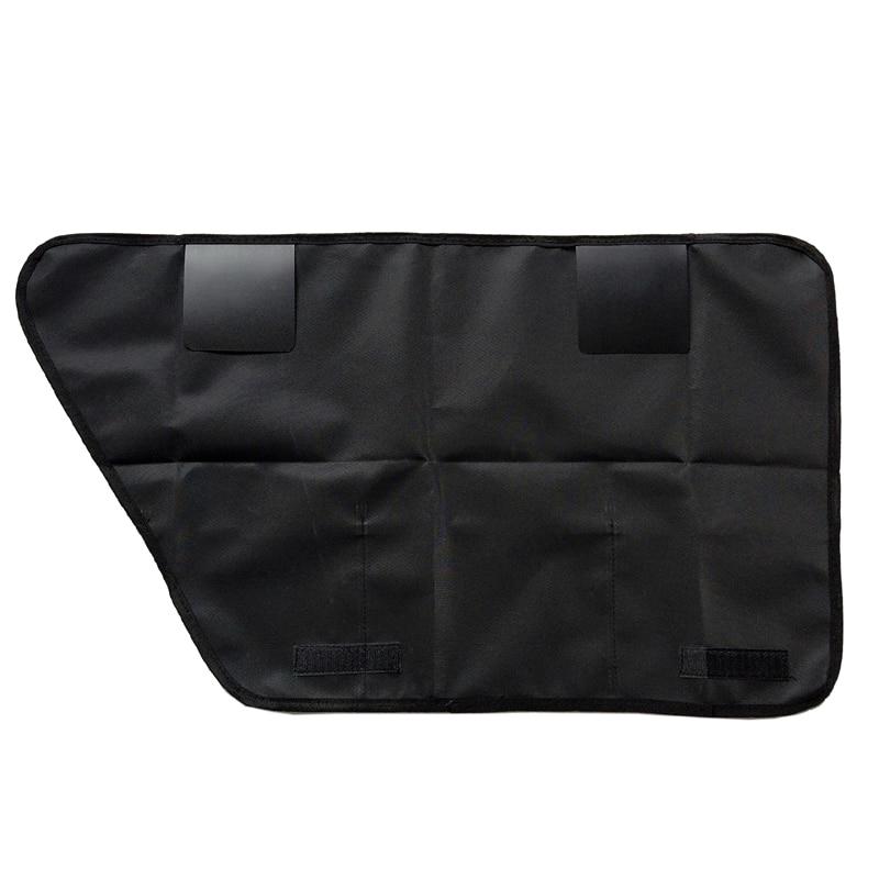 2pcs/lot Pet Car Door Cover Waterproof anti scratch Car Rear Back Seat Pad Door Cover Mat Protectors Fit All Vehicles