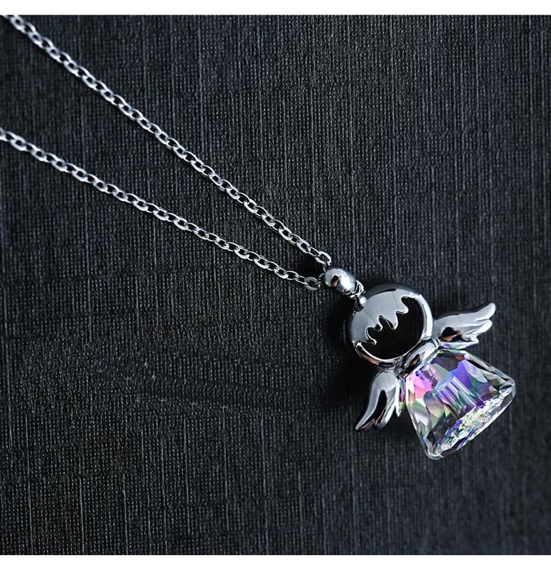 New Guardian angel 2 Color Crystal from Swarovski Maxi Neckls
