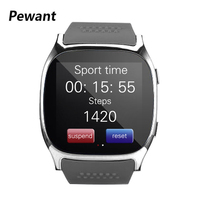 Pewant T8 Smart Watch Bluetooth Smartwatch Support Camera SIM TF Card LBS Positioning Wristwatch For Android Phone PK DZ09 A1