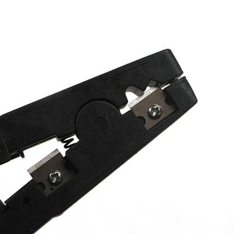 Coaxial Cable Multifuncional Stripper Cortador Ferramenta Rotary Coax Stripper 1Pc para RG59/6/58 Network Tool