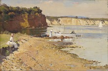 Unframed Canvas Prints - Slumbering Sea, Mentone - Tom Roberts