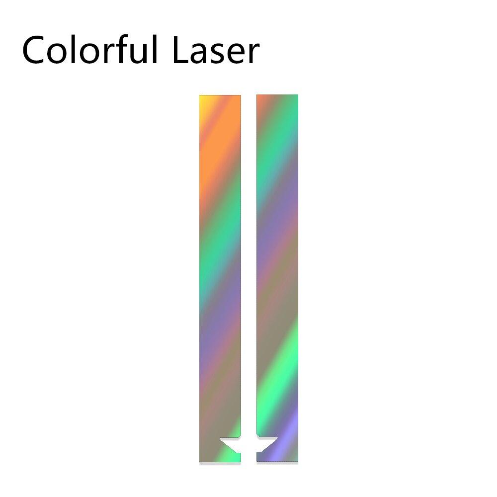 Авто полосы капот наклейки для автомобиля Стайлинг для MINI Cooper S One JCW R55 R56 R60 R61 F54 F55 F56 F60 земляк аксессуары - Название цвета: Laser
