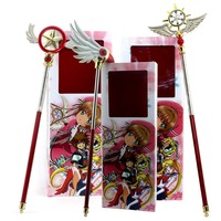 Anime Cardcaptor Sakura Star Wing Wand Cosplay Accessories Prop Wands