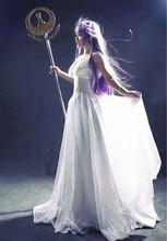 Saint Seiya Athena High Quality Anime Custom Made font b Dress b font Cosplay Costume
