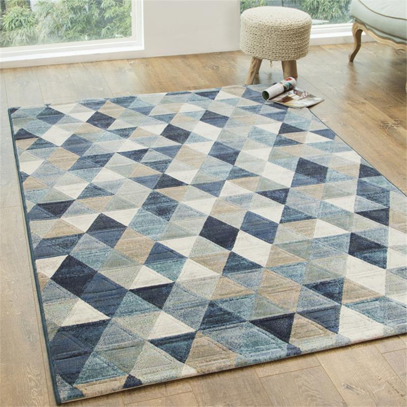 tapis design salon enredada