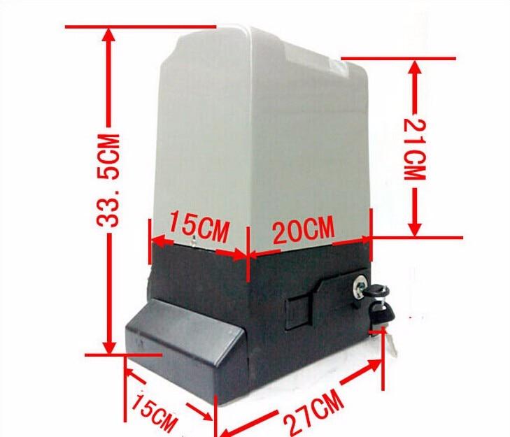 automatic sliding gate operator capecity 800kg sliding gate operator user manual py600ac with inside control board remote control sensor and 4m steel rack capecity 600kg gate