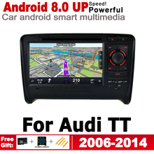 IPS Android 2 Din Car DVD GPS For Audi TT 8J 2006~2014 MMI Navigation Multimedia Player Stereo Radio WiFi System