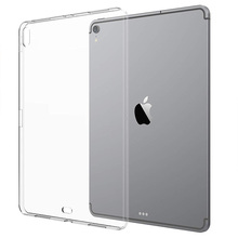 For iPad Pro 11 Case ,Transparent Slim Silicon Soft TPU Tablet Computer Case Shock Absorption For iPad Pro 11 12.9 inch (2018) protective shock absorption handheld plastic case for ipad mini blue