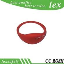 Rfid браслеты производители делают водонепроницаемый RFID браслет 125 кГц ISO TK4100 совместимый ID силиконовый браслет-10 шт./лот