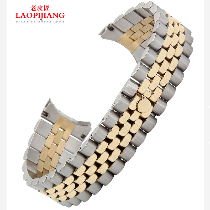 Solid stainless steel with 20MM adapter log type watch accessories