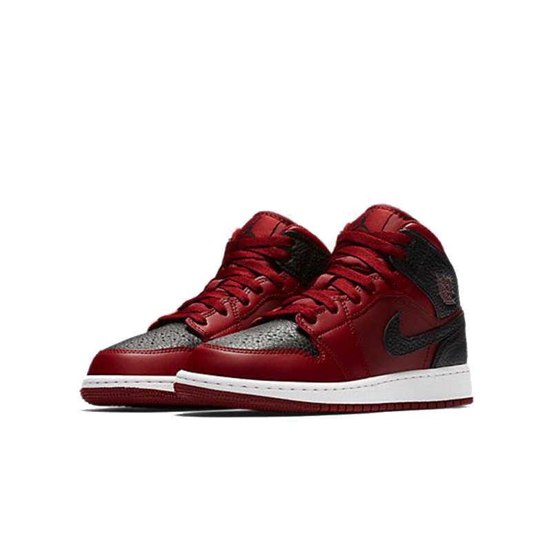7920ba266010 ... NIKE AIR JORDAN 1 MID BG Original Womens Leisure Basketball Shoes  Footwear Super Light High Quality ...