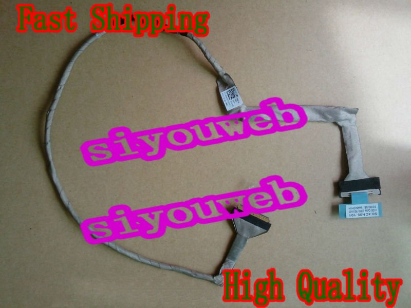 NEW LCD VIDEO FLEX CABLE 50.4CN05.001 06G00T for DELL INSPIRON 1750 laptop *FREE SHIPPING* genuine new free shipping for dell inspiron m4040 m4050 n4040 n4050 lcd cable 0k46nr 50 4iu02 001