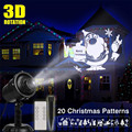 IP65 LED 3D Weihnachten Projektor Kerstverlichting Laser Für Outdoor Moving Landschaft Festivals Party Garten Hochzeit Dekoration