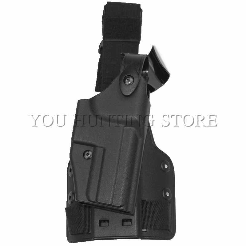 HK USP Compact Tactical Holster Drop Leg Holster NO FLASHLIGHT Right Thigh Holster Hunting Gun Accessories art holster w15090953672