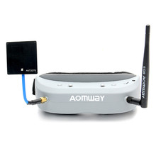 Aomway Commander Goggles V1 2D 3D 40CH 5.8G FPV Goggles Video Headset Support HDMI DVR Headtracker For RC Camera Drone