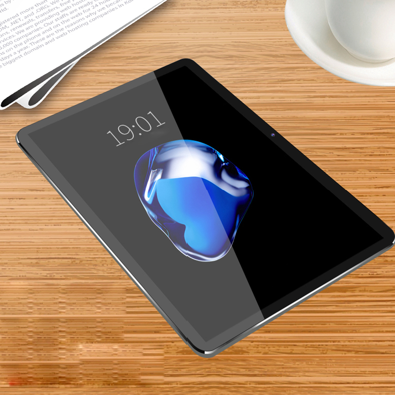 цена 2018 Hot 10.1 Inch Tablet PC Android 7.0 IPS Octa Core RAM 4GB ROM 64GB WIFI OTG Dual SIM Dual Camera Smart tablets Phone Call