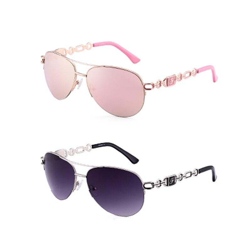 FENCHI sunglasses women uv 400 oculos female glasses sun glasses mirror Pilot Pink feminino zonnebril dames gafas de sol mujer 11