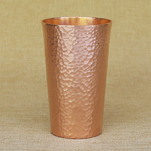 Ручной работы, Ретро Чистая медь, утолщенная вода, вино, чай, чашка, пивная кружка чашка, кофейная чашка, посуда