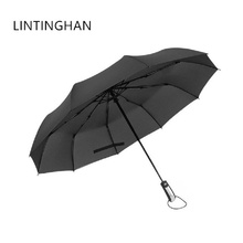 New boutique high-end business casual umbrellas Parasols Stainless steel ten bones 105 cm increase